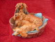 Eve Pearce Hand-Made Model - Dachshund Puppies (Long) * SALE *